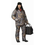 Костюм Рыболов зимний (куртка, п-комбинезон) КМФ Темный лес фото