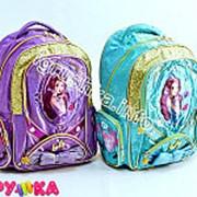 Рюкзак школьный девушка 14-0196 фото