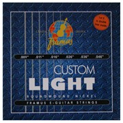 Струны для электрогитары Framus Blue Label Custom Light 45210 (6 струн .09-.46) фото