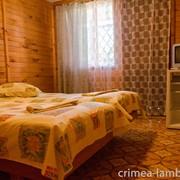 Отдых в Крыму, двухместный номер, Заозерное фото