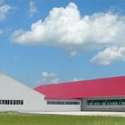 Строительство сельскохозяйственных зданий фото