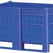 Пластиковый контейнер перфорированный на полозьях Модель 800 фото