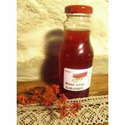 Натуральные сиропы из аронии, ревеня, яблок фото