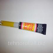 Супер-клей цианоакрилатный (тюбик 3 грамма) фото