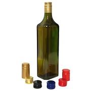 Бутылка стеклянная Шинок 0.75 л оливкового цвета под алюминиевый колпачок фото