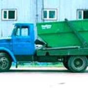 Вывоз мусора бункерами 8 куб.м. фото