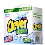 Бесфосфатный гипоаллергенный стиральный порошок CLEVER FREE фото