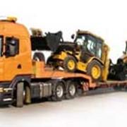 Перевозка негабаритных, тяжеловесных, крупногабаритных грузов фото