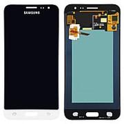 Дисплей для Samsung J3 2016 SM-J320 AMOLED белый в сборе с тачскрином фото