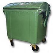 Мусорный контейнер на колесах MGB-1100 k фото