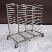 Передвижная стойка для сушки заготовок. фото