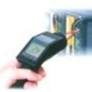 Инфракрасный термометр с пересекающимися лазерными лучами фото