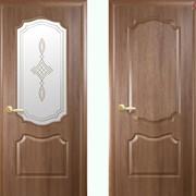 Дверь из бруса Новый стиль Фортис V золотая ольха фото