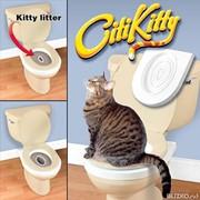 Система приучения кошек к унитазу Citi Kitty Cat Toilet Training Kit фото