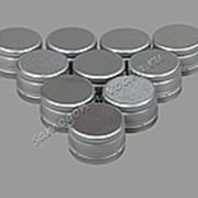 """Алюминиевый колпачок типа """"Винт"""" серебро без резьбы 28х18 (10шт) фото"""