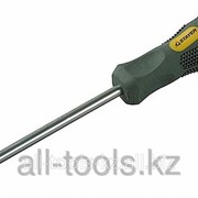 Отвертка Stayer Max-Grip Regular, Cr-V, намагниченная с усилителем, SL 8,0х150мм Код: 2580-08-150 GF фото