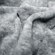 Велюр серый меланж, ткани из натуральных и искусственных волокон фото
