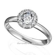 Кольца с бриллиантами D41622-1 фото