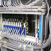 Монтаж и обслуживание телефонных станций фото