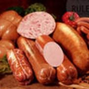 Вареные колбасные изделия фото