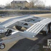 Аренда легковых и грузовых прицепов с тягачом фото