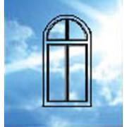 Окна, круглая арка фото