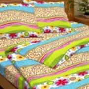 Ткань постельная Бязь 142 гр/м2 150 см Набивная Веселое настроение зеленый/S536 TDT фото