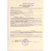 Декларация соответствия по ТР фото