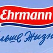 """Молочные продукты производителя """"Эрман"""" фото"""