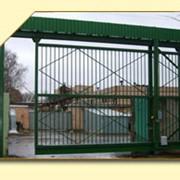 Ворота промышленные.