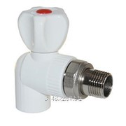 Кран радиатор - угловой ø20x1/2 ПП 3242-vre-200b00 фото