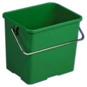 Ведро Виледа зеленого цвета 6л фото