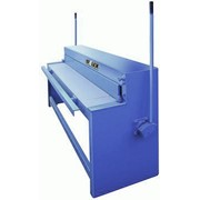 Гильотина механическая для резки листовой стали, стационарная, ручная для резки алюминия фото
