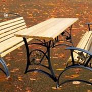 Набор садовой мебели фото