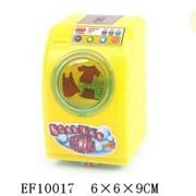 Машина стиральная заводная на веревке свет в пак.,100069446/EF10017/NN фото