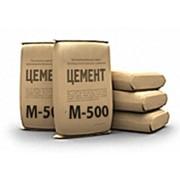 Цемент в мешках М-500 фото
