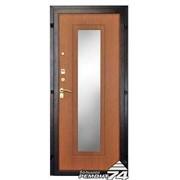 Дверь входная металлическая с фрезерованной панелью фото