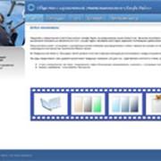 Разработка дизайн-макета сайта фото