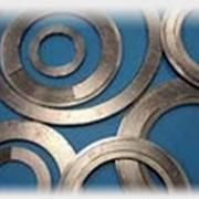 Прокладки графитовые фланцевые на стальном основании фото