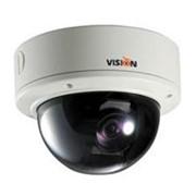 Цветная цкамера 1/3 , 0,1 Люкс -0,00001 Люкс Н , 600ТВЛ Д /650ТВЛ Н , WIDELUX, 12/24 В, АРД, варифокал. объектив 3,3~12 мм, купол с ультратонкой базой 0160 х 75 мм , экранное меню с управлением по RS-485, день-ночь фото