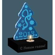 Акриловые сувениры VIP с гравировкой и подсветкой фото