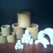 Насадки кислотоупорные цилиндрические кольца Рашига, Инталокс ГОСТ 17612-89 фото