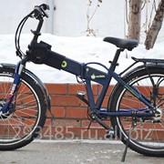 Электровелосипед Eltreco Patrol Cardan 26 фото