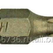 Набор шуруповёртных насадок EKTO PH1 x 25 мм, 10 шт, арт. SB-006 фото