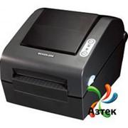 Принтер этикеток Bixolon SLP-D423DEG термо 300 dpi темный, Ethernet, USB, RS-232, отделитель, кабель, 106575 фото