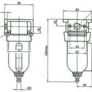 Фильтр-влагоотделитель П-ФВ-10-1(2), П-ФВ-16-1(2) фото