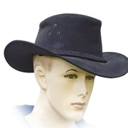 Шляпа ковбойская из натуральной кожи фото
