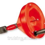 Ручное устройство для чистки труб со спиралью D=10мм х 10м Rothenberge фото