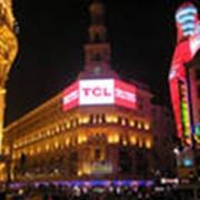 Реклама на фасадах зданий