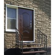 Входное крыльцо с коваными элементами для дома,дачи,бани фото